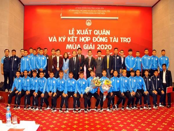 Câu lạc bộ Phố Hiến - Niềm tự hào của bóng đá Hưng Yên
