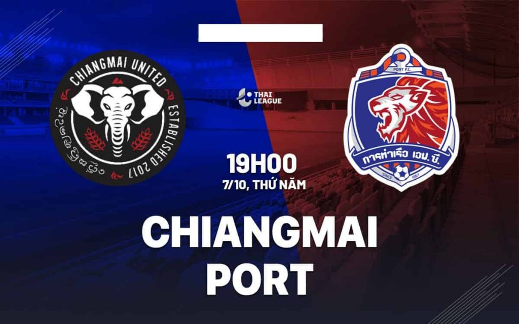 Kèo tài xỉu Chiangmai vs Port, 19h ngày 7/10